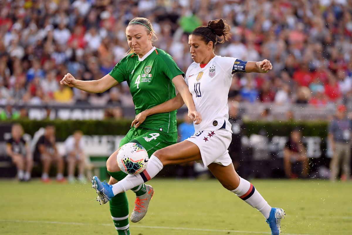 USWNT kick off World Cup Victory Tour with 3-0 win over Ireland