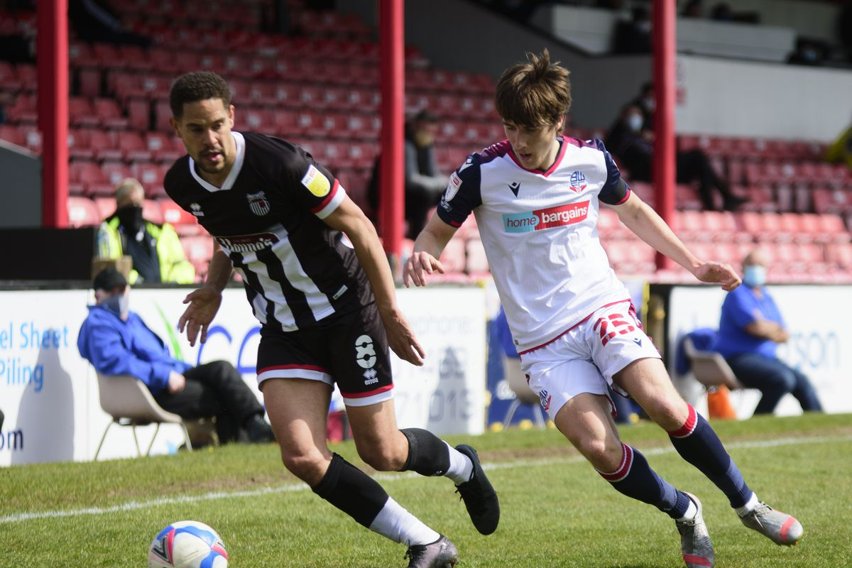 Grimsby Town v Bolton Wanderers - Sky Bet League Two