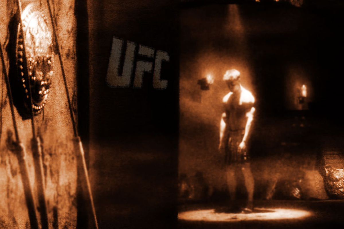 """For the first time in years, you will not be greeted by this man -- The Gladiator Man -- for tomorrow night's (Sat., Feb. 4, 2012) UFC 143: """"Diaz vs. Condit"""" pay-per-view in Las Vegas, Nevada."""