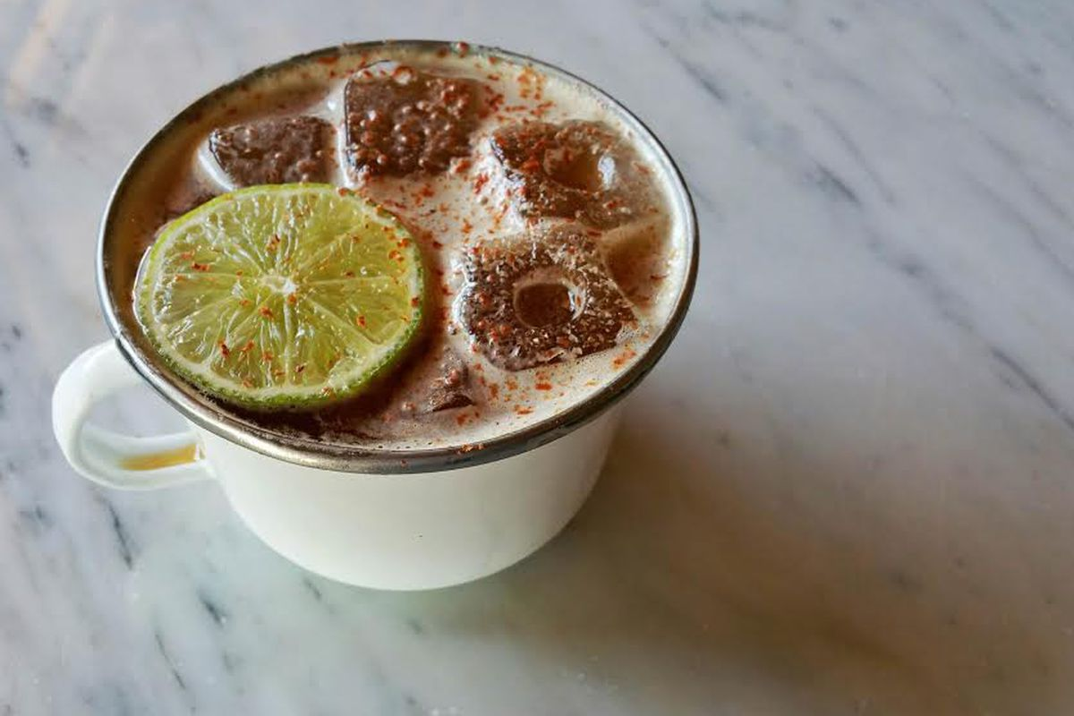 The Tepache Fizz from Broken Spanish in Los Angeles.