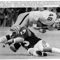 Former BYU great and Oakland/L.A. Raiders tight end Todd Christensen has passed away, the BYU athletics department confirmed Wednesday morning. Christensen, who was 57, died due to complications from surgery, according to the BYU athletic department's Twitter account.