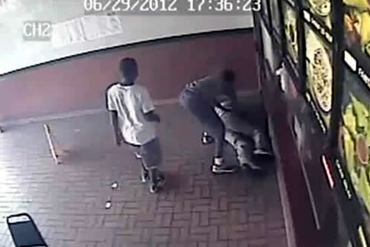 The police are looking for these two men