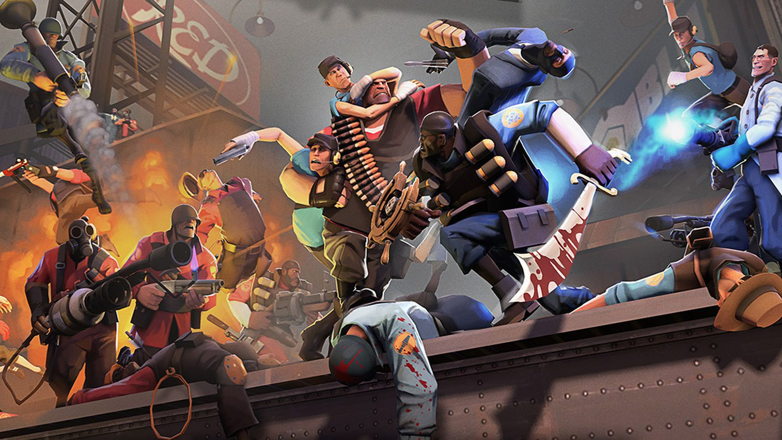 Team Fortress 2 update adding matchmaking, ranked play and more