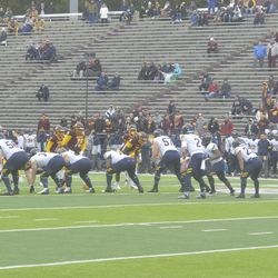 Toledo and CMU prepare for the next snap.