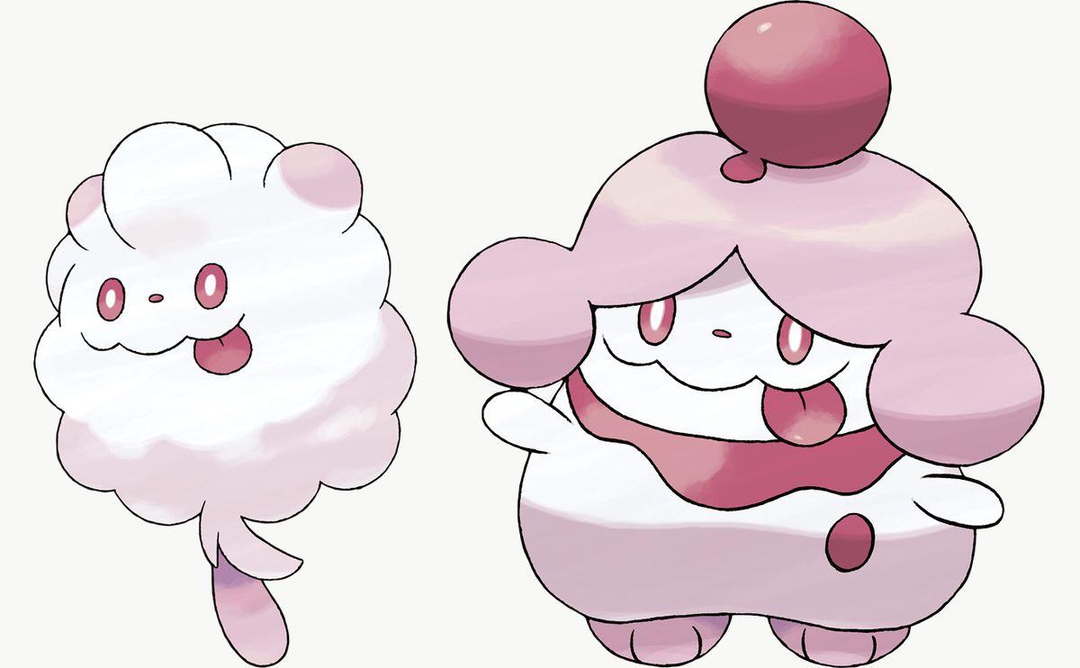 Swirlix and Slurpuff are Pokémon Sword exclusives