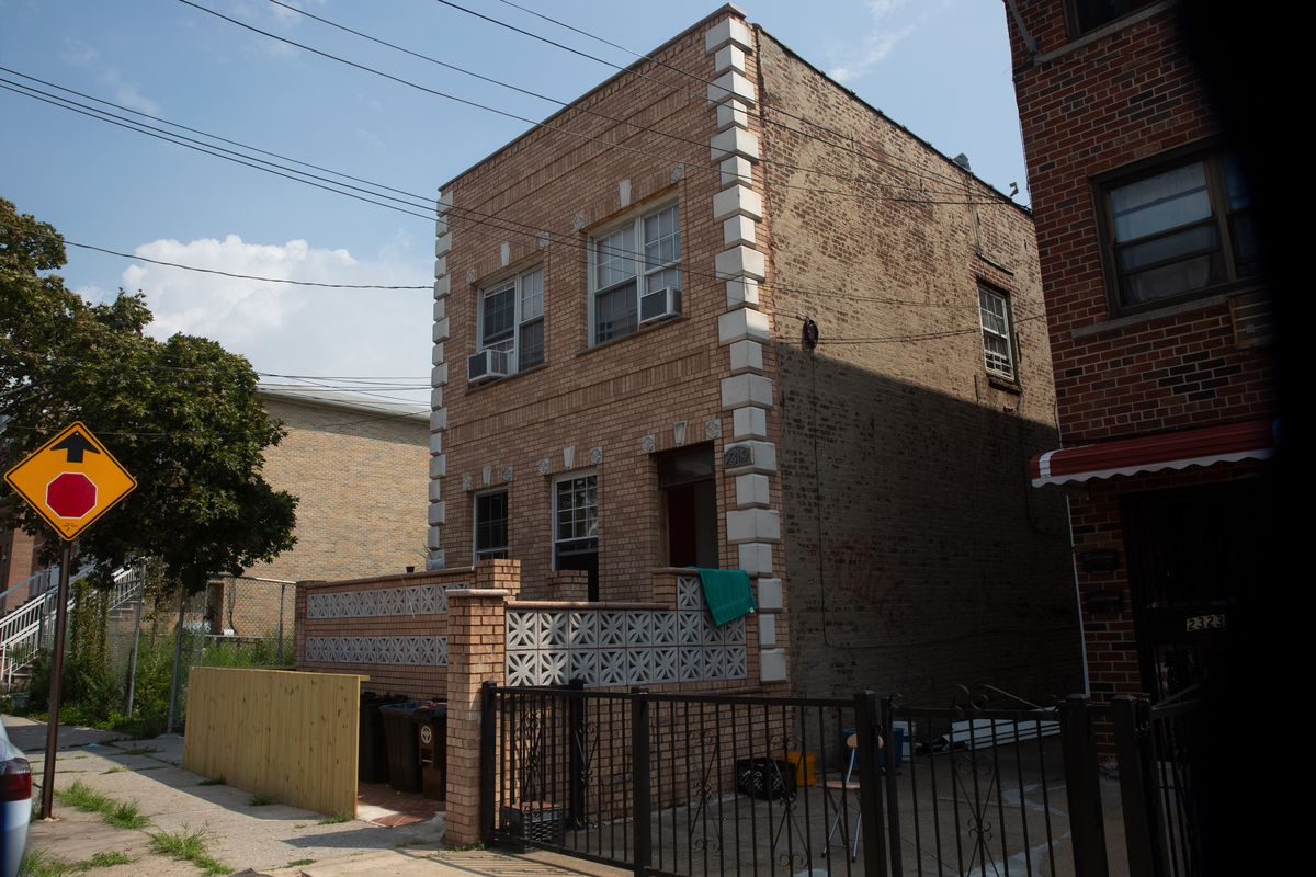 The Green Builders Group headquarters in Gravesend, Brooklyn, Aug. 12, 2020.