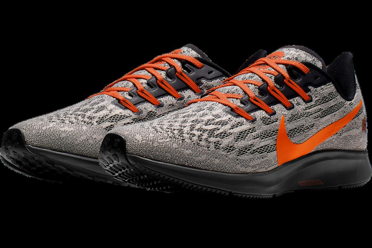 vente chaude en ligne 45bde 6d0ce Nike drops the new Air Zoom Pegasus 36 Oklahoma State shoe ...