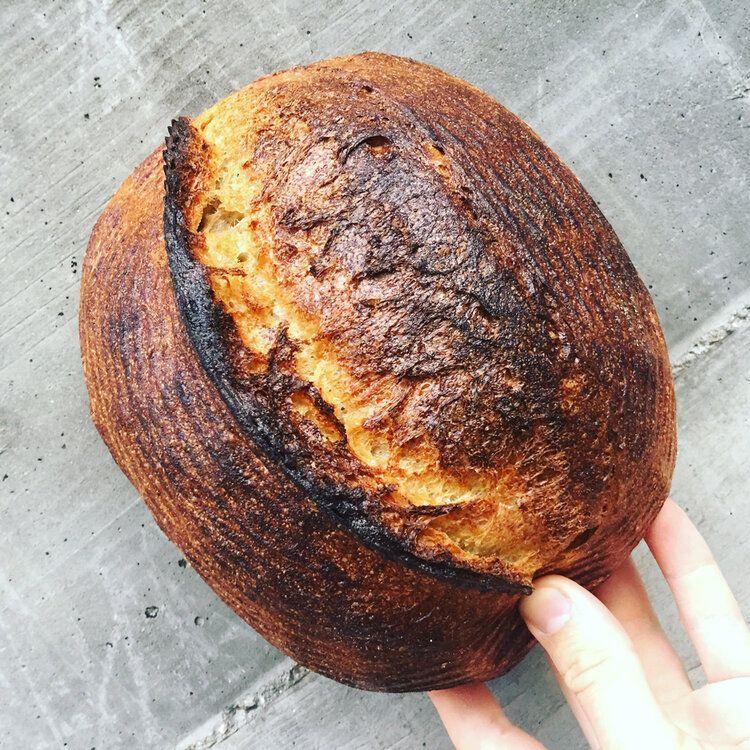 Sourdough loaf from Josey Baker Bread