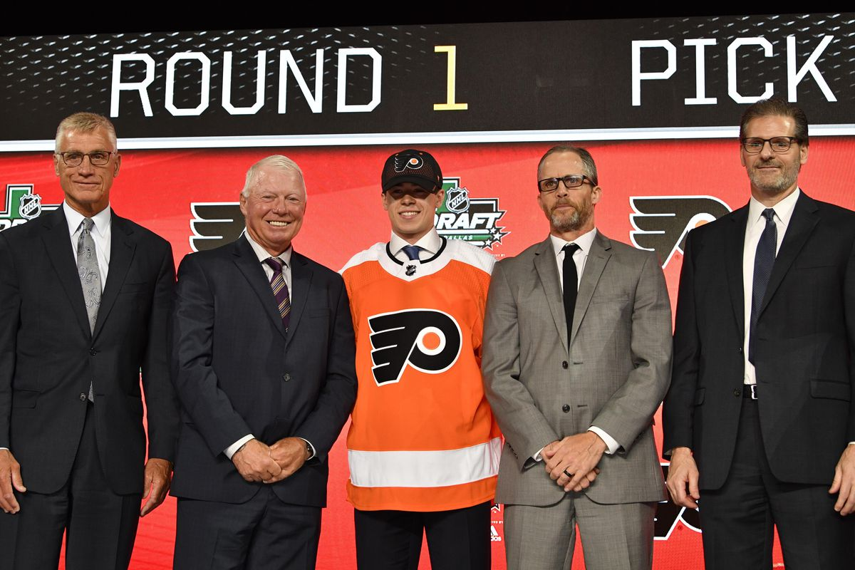96c54fe3c53 NHL Draft 2018  Philadelphia Flyers select Jay O Brien with 19th overall  pick - Broad Street Hockey