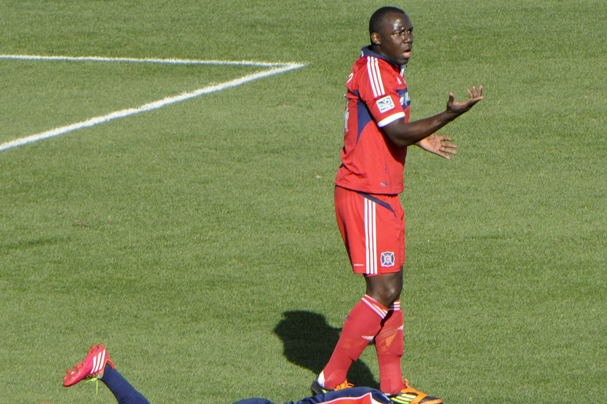 Hurtado is one of the new starters for the Fire.