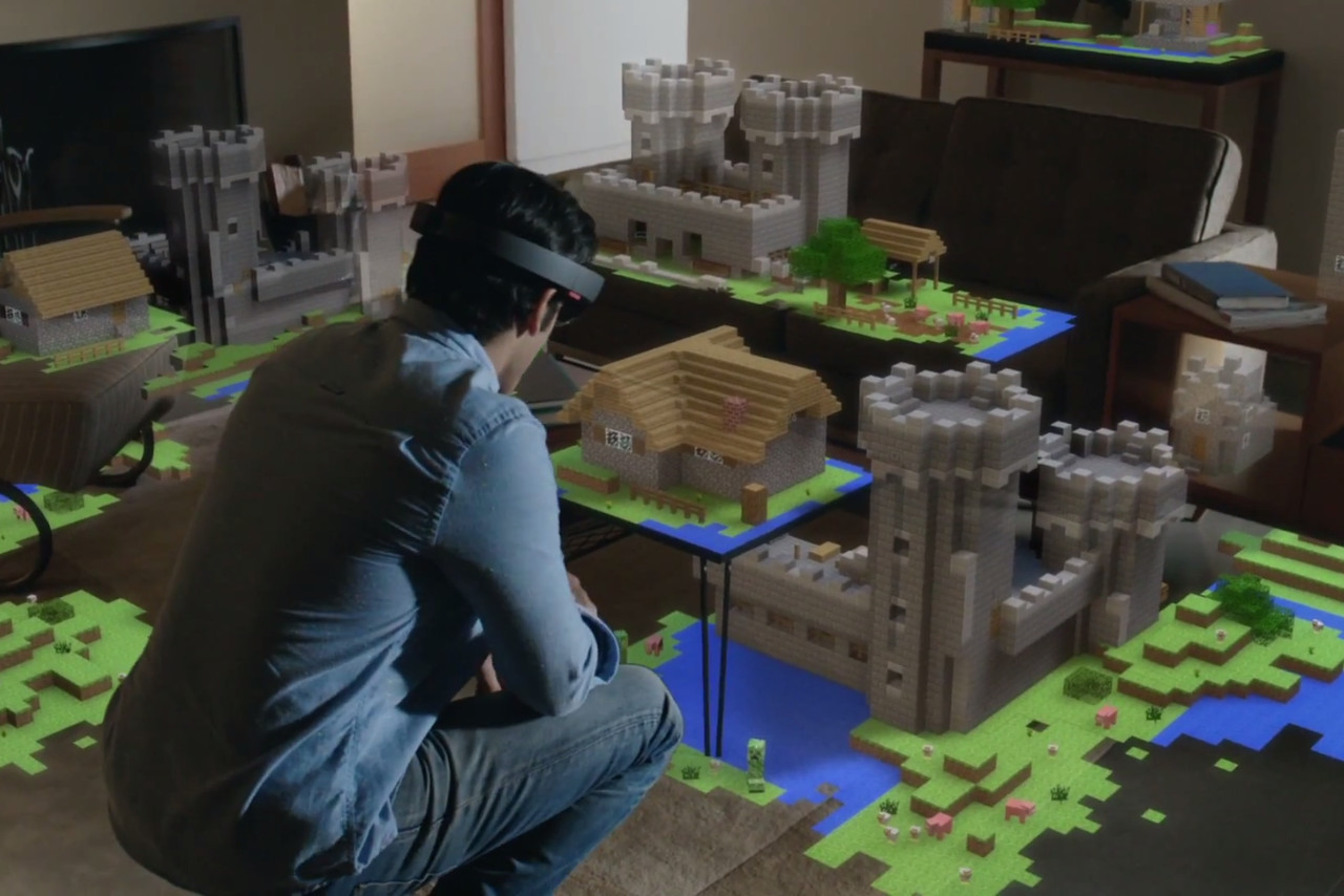 Up close with the HoloLens, Microsoft's most intriguing