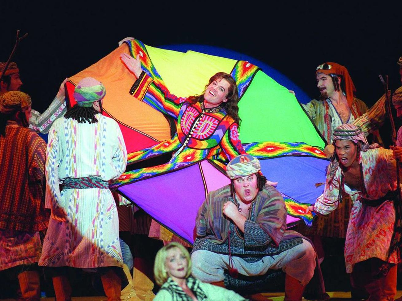 """Donny Osmond in """"Joseph and the Amazing Technicolor Dreamcoat."""""""