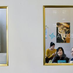 Ardusat employees work in their Salt Lake City office on Friday, Sept. 15, 2017.