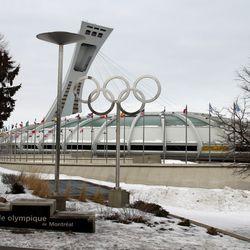 Olympic Stadium exterior