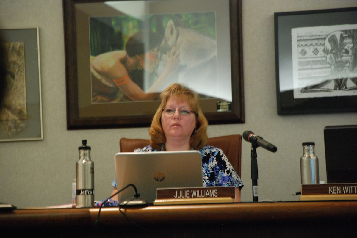 Jeffco Public Schools board member Julie Williams.