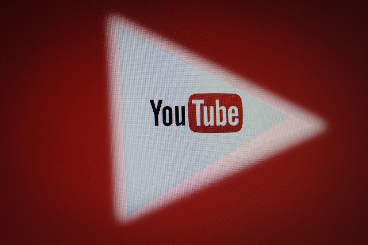 YouTube triangular logo