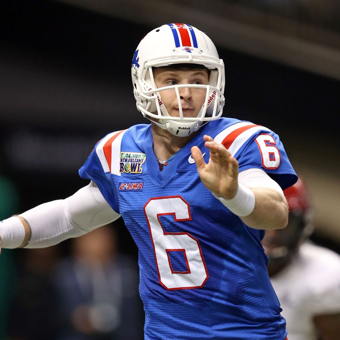 new concept b6ebf 0b32b Jeff Driskel gets Superdome redemption in Louisiana Tech's ...