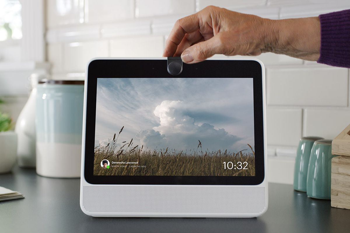 Gadget with screen