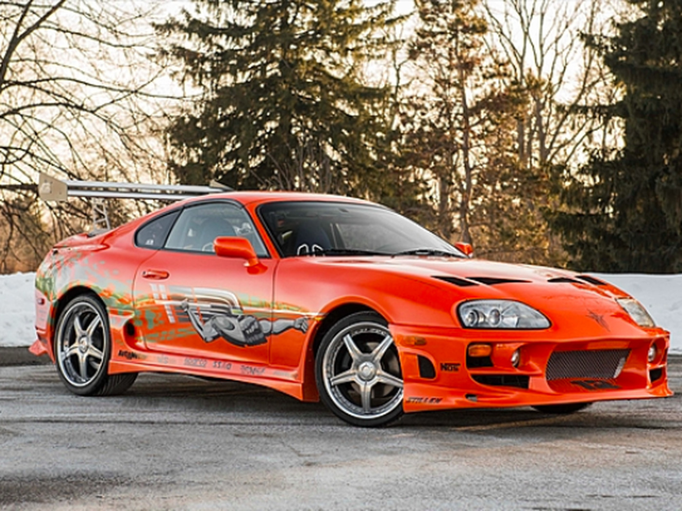 Help Me Buy My Dream Car Paul Walker S Supra From The Fast And