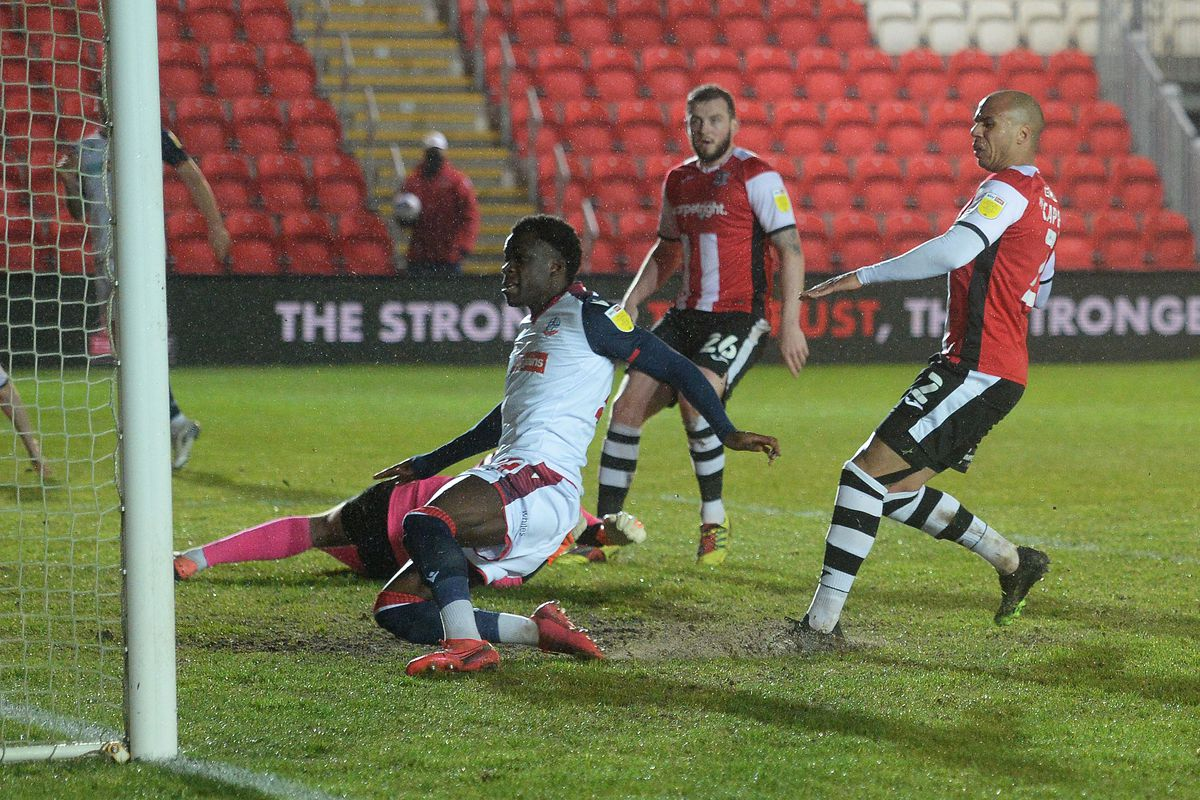 Exeter City v Bolton Wanderers - Sky Bet League Two