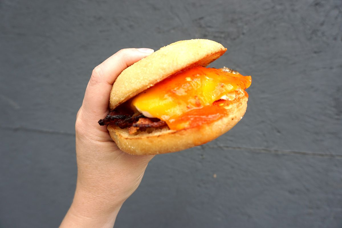 The Bodega sandwich at The Rooster