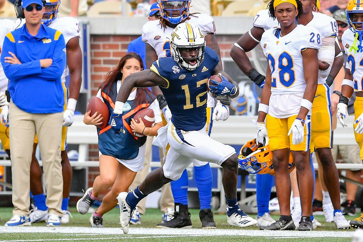 COLLEGE FOOTBALL: OCT 02 Pitt at Georgia Tech