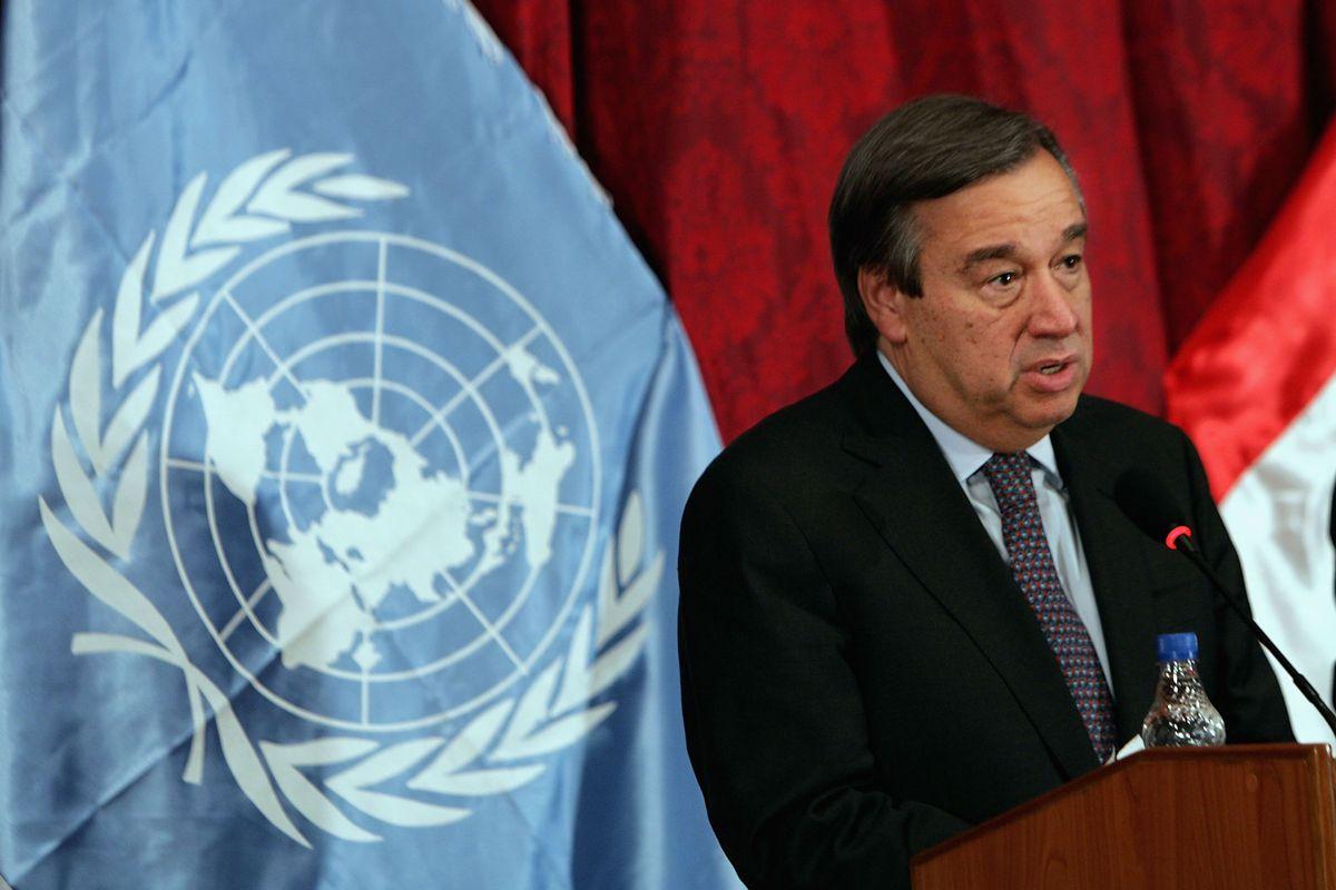 UN High Commissioner For Refugees Visits Baghdad