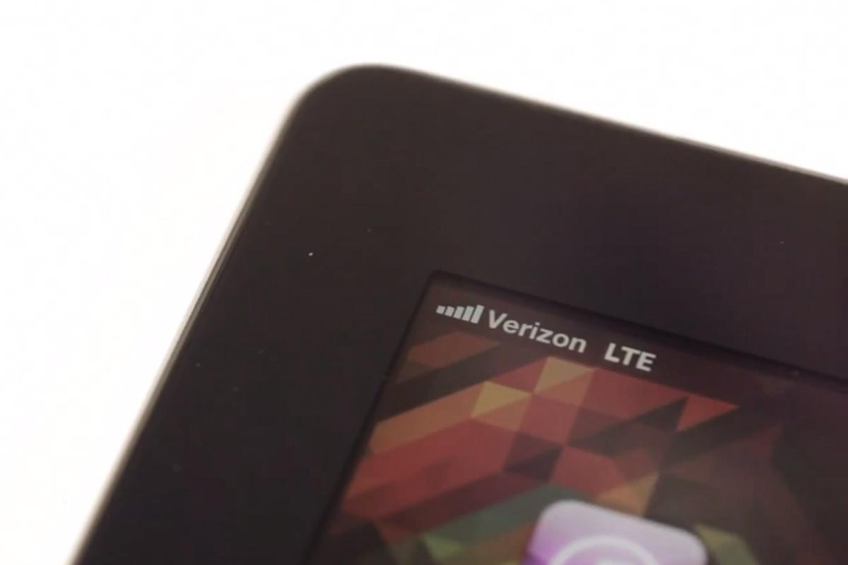 new iPad LTE