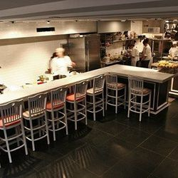 """<b>BONUS</b>: Bruni called the bar stools at L'Artusi <a href=""""http://www.nytimes.com/2009/03/04/dining/reviews/04rest.html?pagewanted=all"""">some of the most comfortable</a> he's ever encountered.  They will make you think about stools in a whole different"""
