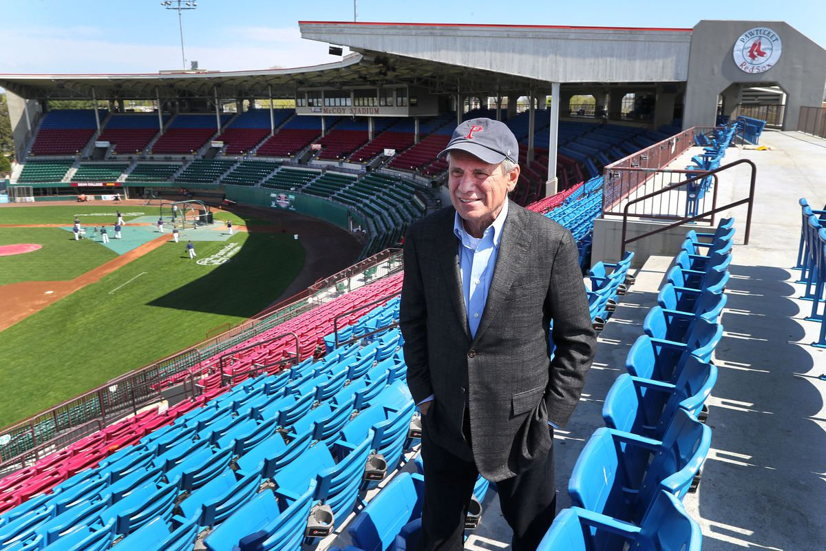 Pawtucket Red Sox Chairman Larry Lucchino