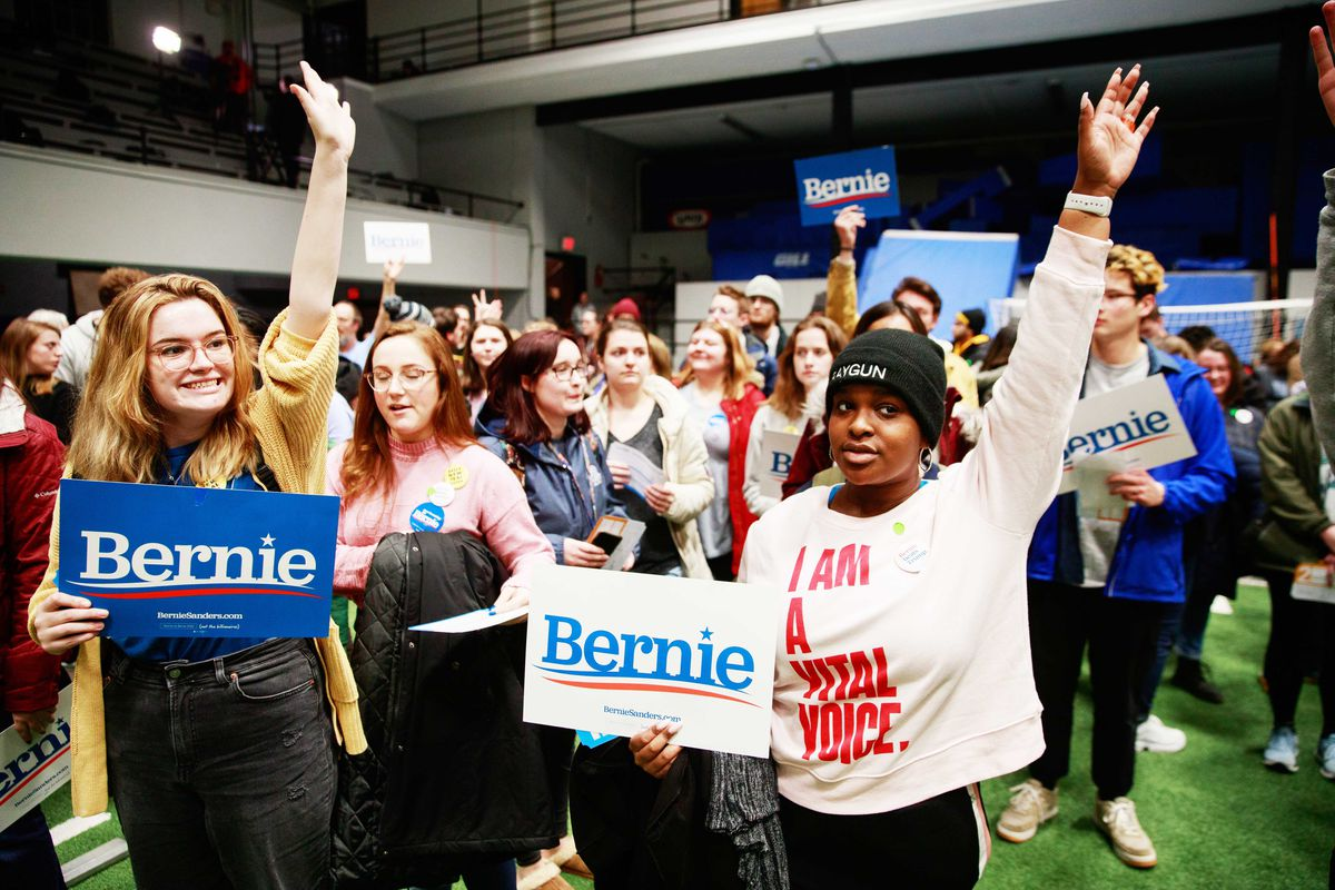 Sanders and his team bet that they would see a surge in turnout among young or infrequent voters, which ultimately did not happen. Jeremy Hogan/Barcroft Media via Getty Images