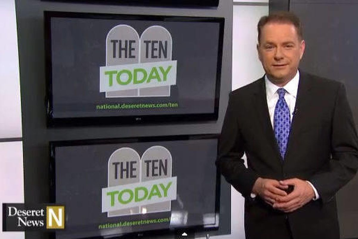 """This week""""™s Deseret News National Edition looks at the Ten Today series."""