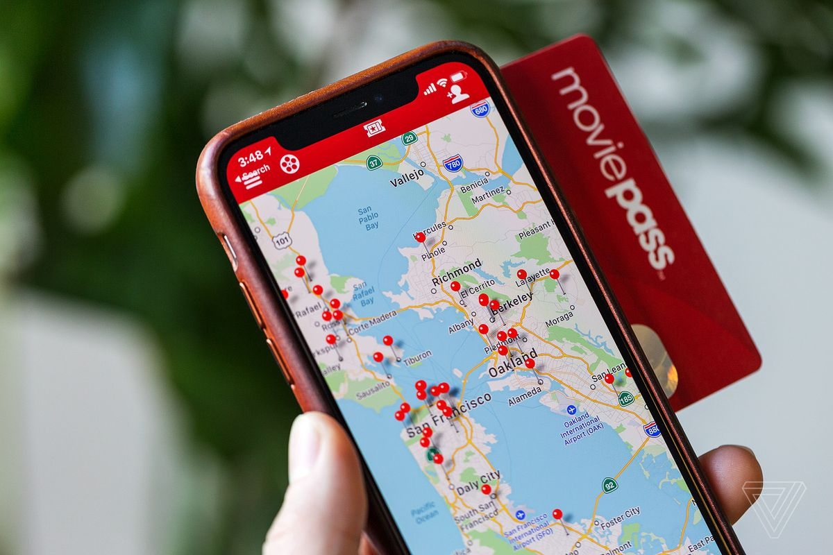 MoviePass pulls 'unused app location' features from its iOS app
