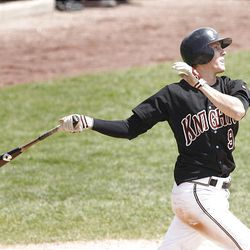 Lone Peak's Dillon Robinson was named the 5A MVP. He may have been the toughest out in the state, hitting .532.
