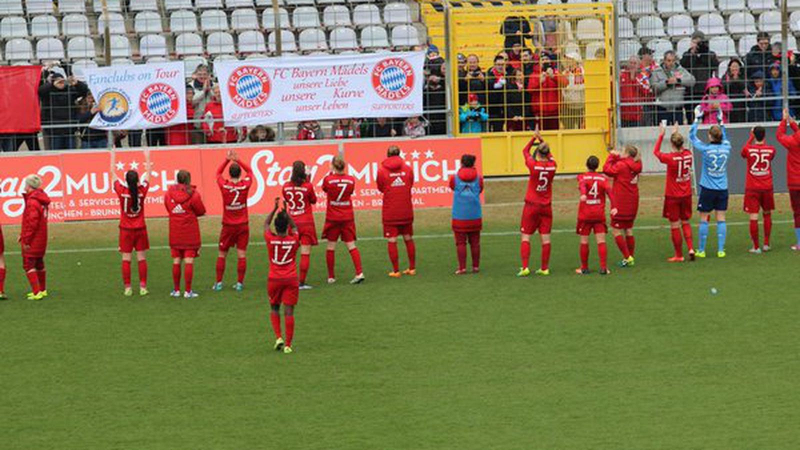 bayern m 252 nchen frauen 1 bundesliga frauen bayern munich frauen return to winning ways bavarian 729