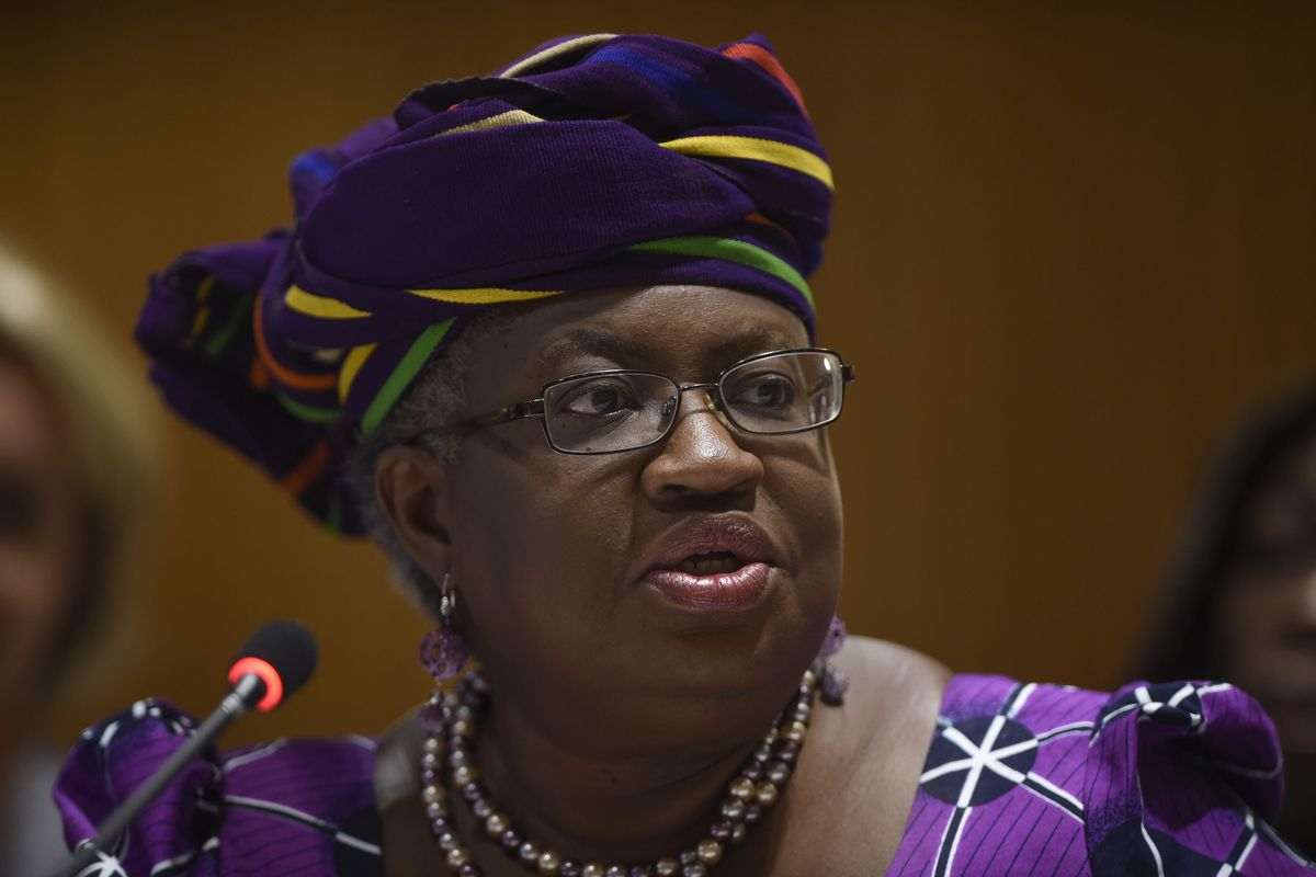 Former Nigerian Finance Minister Ngozi Okonjo-Iweala, who lost the 2012 World Bank President's race and could be a formidable candidate in the coming election.