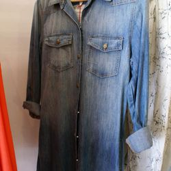 Current/Elliott denim dress for $148 (Originally $296)