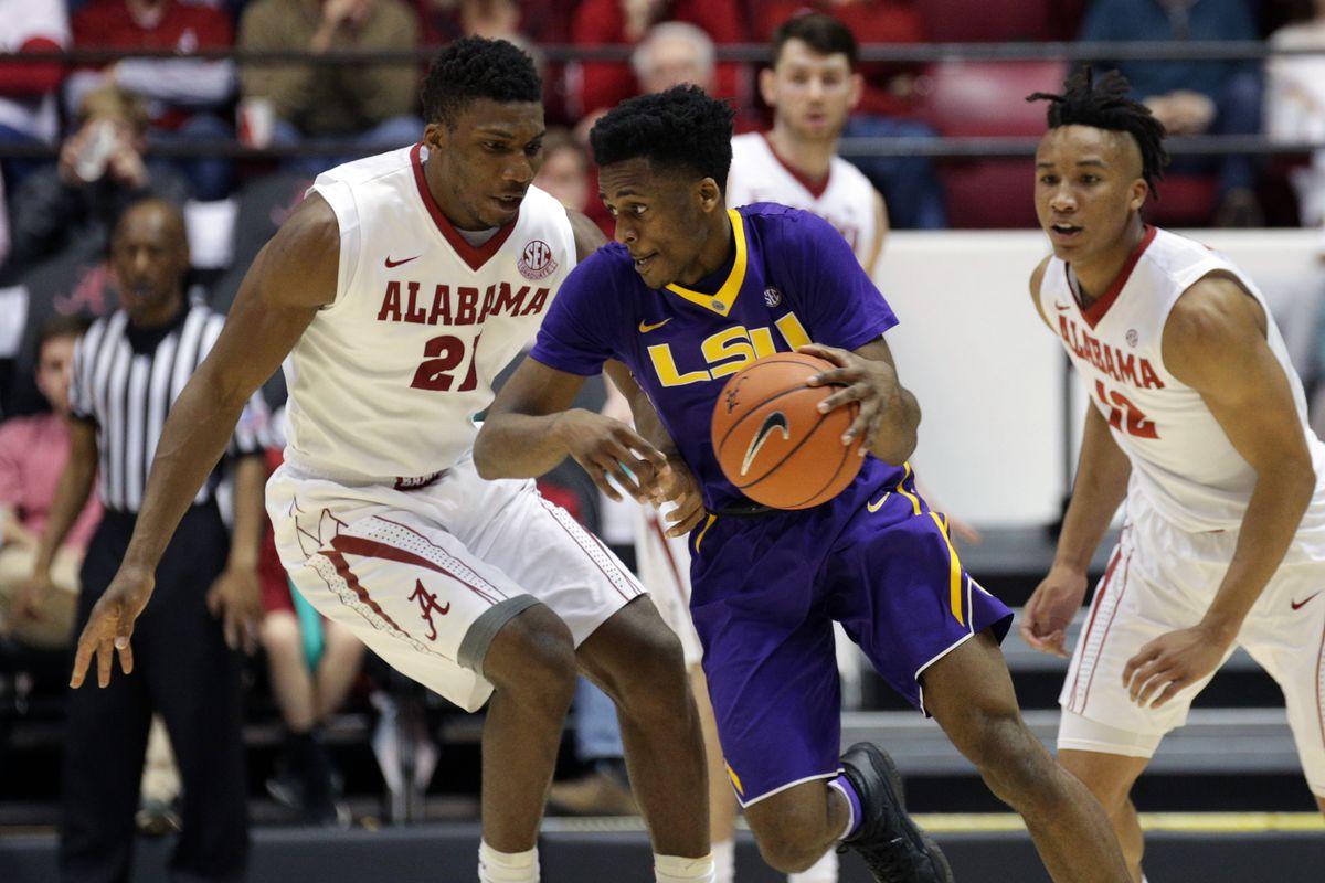 NCAA Basketball: Louisiana State at Alabama