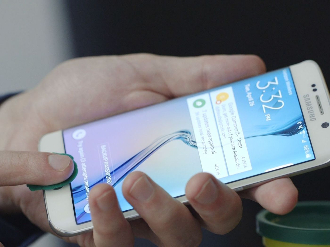 Your phone's biggest vulnerability is your fingerprint - The
