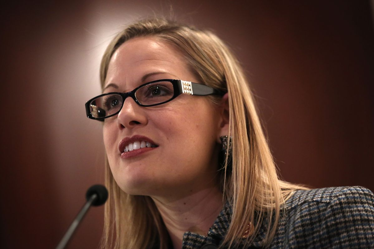 Rep. Kyrsten Sinema, a Democratic Senate candidate in Arizona, recently said she won't back Minority Leader Chuck Schumer if elected.
