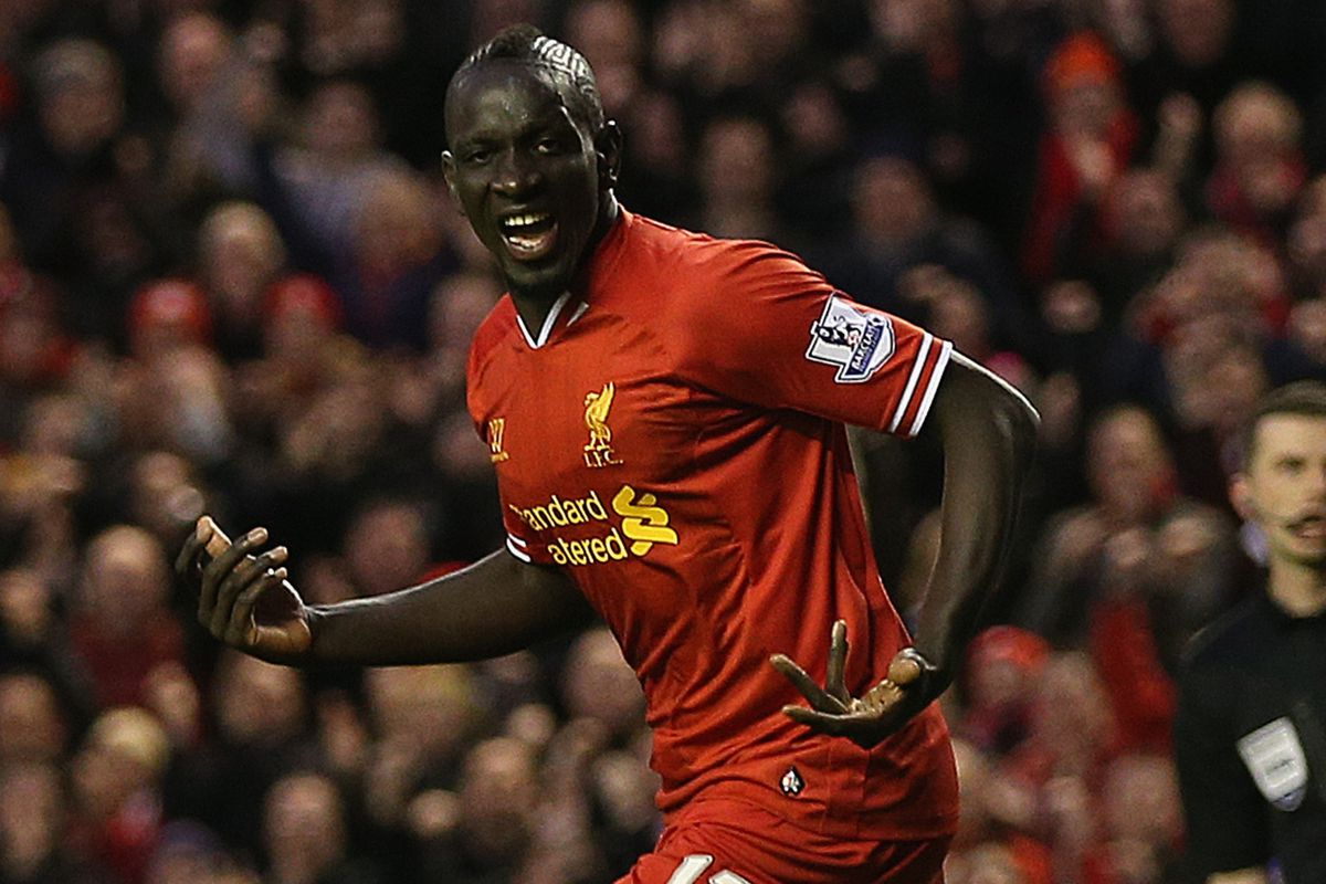 We lack a more solemn or contemplative Sakho photo, sorry.