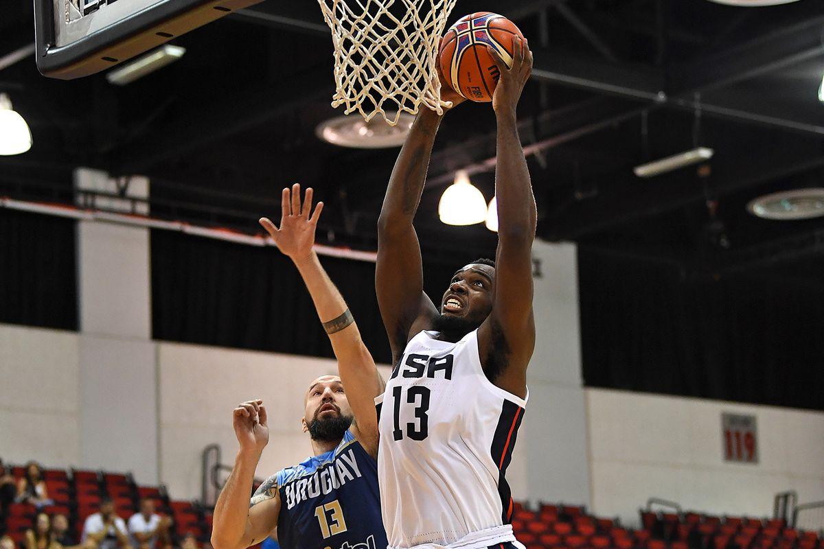 Basketball: FIBA World Cup Qualifying Basketball-Uruguay at USA