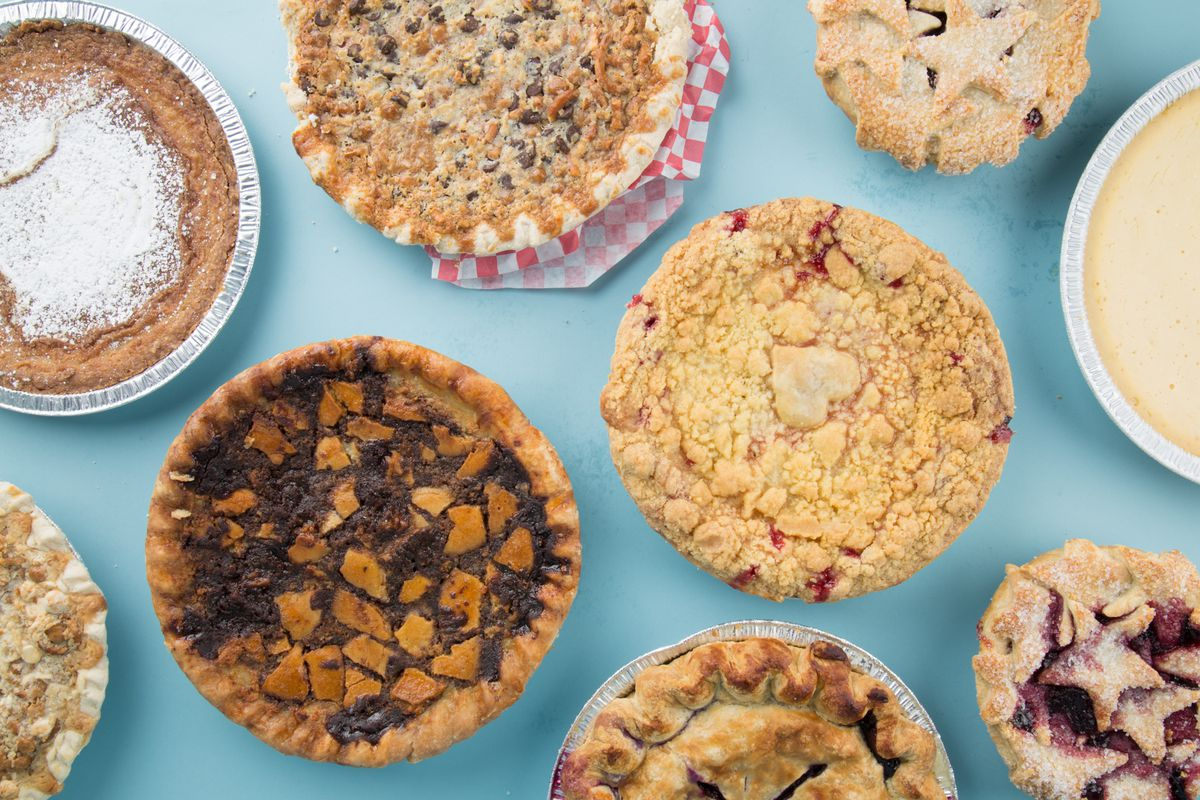 A selection of pies from Goldbely