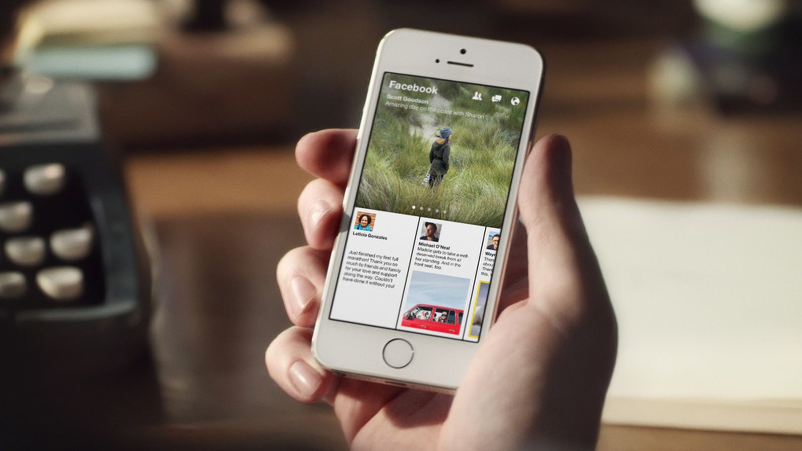 With Paper Facebook Just Blew Its Own Iphone App Out Of The Water The Verge