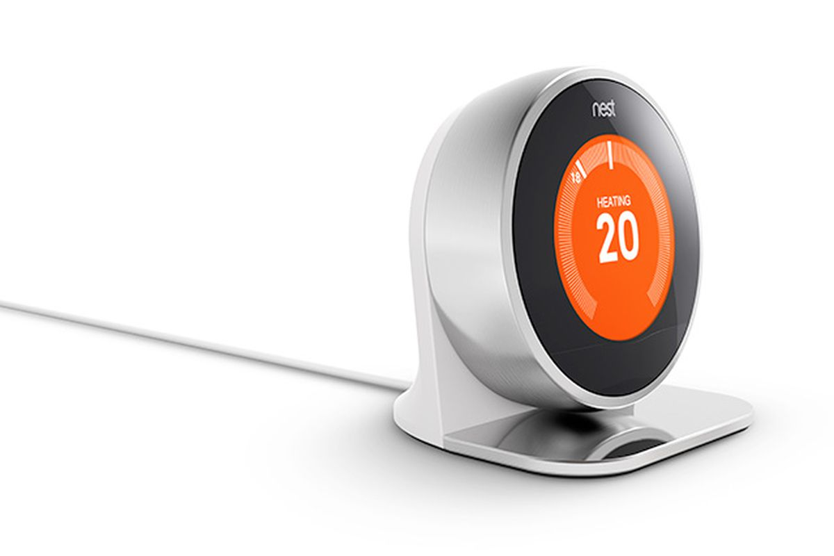 Nest thermostat arrives in the uk ahead of an 39 aggressive 39 european expansion the verge - Nest learning thermostat ...