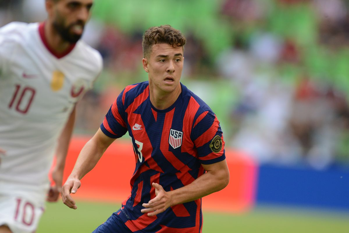 SOCCER: JUL 29 Concacaf Gold Cup Semifinal - Qatar v USA