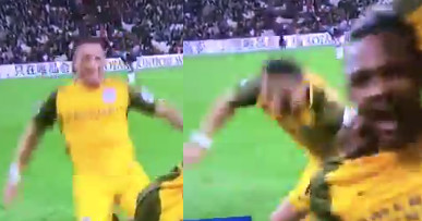 Soccer player?s knee slide ends in a hilarious face plant
