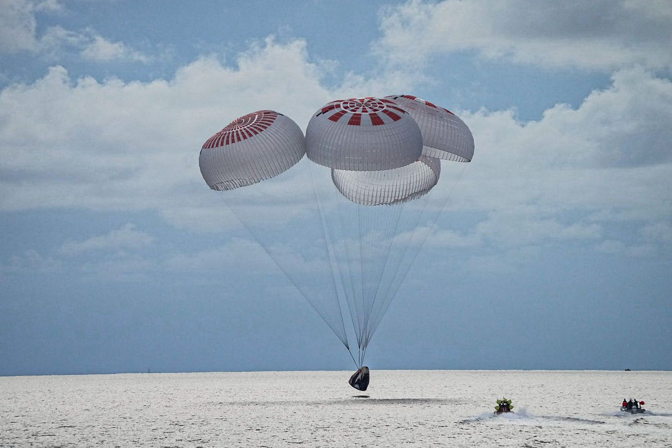 SpaceX's Inspiration4 crew returns to Earth, capping first fully private mission in orbit