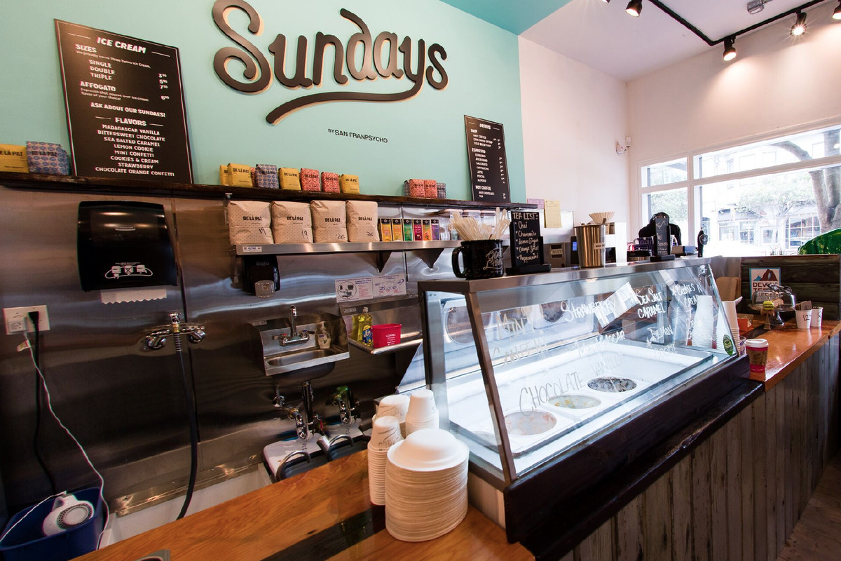 Check Out Sundays An Inner Sunset Coffee And Ice Cream
