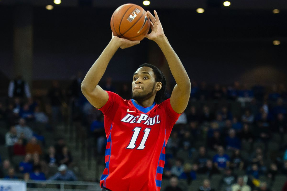 Forrest Robinson and DePaul lead the Big East...of course/
